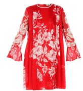 Fendi Poppy Floral Print Dress