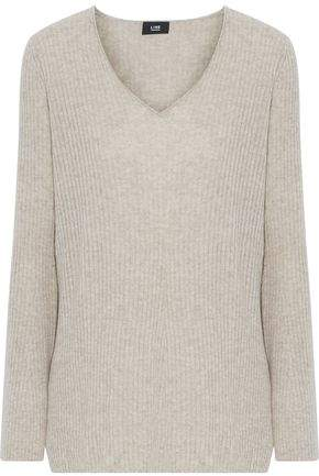 Line Ines Ribbed Melange Cashmere Sweater