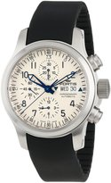 Fortis Men's 635.10.12 K B-42 Pilot Professional Automatic Dial Chronograph Date Rubber Watch