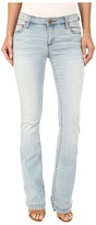 KUT from the Kloth Chrissy Flare Jeans in Artistic w/ New Vintage Base Wash