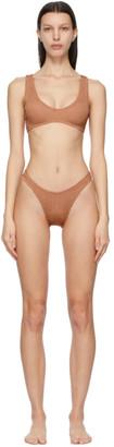 BOUND by Bond-Eye Pink Scout Crop Bikini
