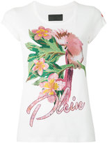 Philipp Plein cockatoo T-shirt - women - Cotton - M