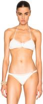She Made Me Savarna Triangle Bikini Top