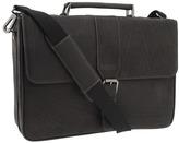 Kenneth Cole Reaction Till Death Do Us Port - 5 Double Gusset Flapover Portfolio Computer Case Computer Bags