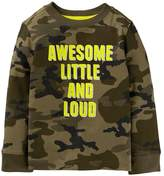 Crazy 8 Camo Awesome Tee