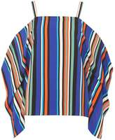 Dorothy Perkins Multi Colour Stripe Batwing Top