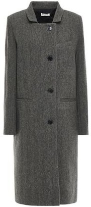 Masscob Bronte Herringbone Wool And Linen-blend Coat