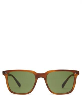 Oliver Peoples Lachman Square Acetate Sunglasses - Tortoiseshell