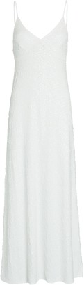 Norma Kamali Sequin Slip Dress