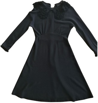 Marc Jacobs Black Wool Dresses