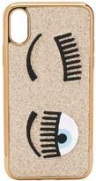 Chiara Ferragni Flirting embroidered iPhone XS case