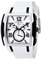 Mulco Unisex MW1-13186-015 Analog Display Swiss Quartz White Watch