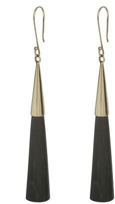 Soko Pia Capped Horn Drop Earrings