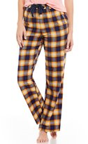 Sleep Sense Plaid Flannel Sleep Pants