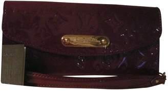 Louis Vuitton Pochette Accessoire Purple Patent leather Clutch bags