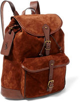 Polo Ralph Lauren Suede Backpack