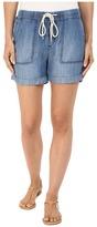 Mavi Jeans Laila Shorts in Indigo Brushed Super Soft Tencel