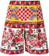 Dolce & Gabbana Mambo print shorts
