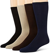 Muk Luks 4-pk. Mens Dress Socks