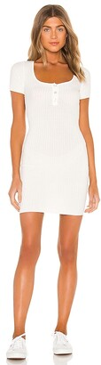 superdown Ashton Square Neck Dress