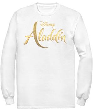 Disney Disney's Aladdin Men's Logo Long Sleeve Graphic Tee