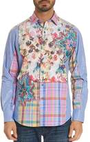 Robert Graham Limited Edition Floral Plaid Classic Fit Button-Down Shirt