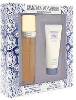 Elizabeth Taylor Diamonds & Sapphires For Women by 2 Pc. Gift Set ( Eau De Toilette Spray 3.3 oz + Body Lotion 3.3 oz)