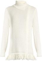 Proenza Schouler Fringed-hem knit sweater