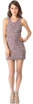 Parker Knit Splatter Sequins Dress
