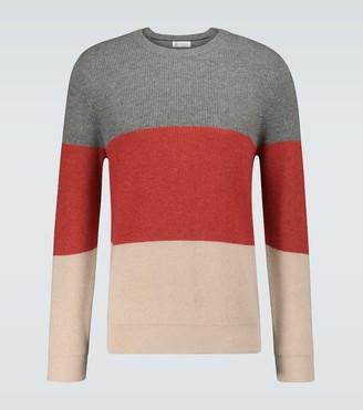 Brunello Cucinelli Cashmere colorblocked sweater
