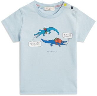 Paul Smith Cotton Graphic T-Shirt