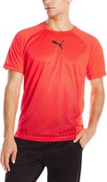 Puma Men's Vent SS Tee, Red Blast/Barbados C, XL