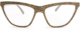 Prism Cairo straight-top cat-eye glasses