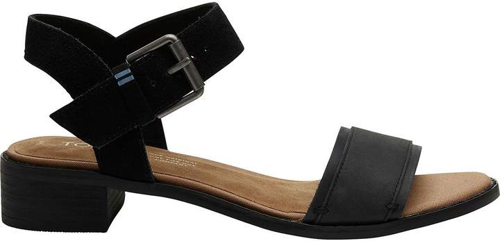24a93f138 Toms Leather Upper Women s Sandals - ShopStyle