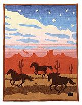 Pendleton Wild Horses Muchacho Blanket