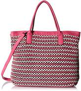 MG Collection Lisbet Oversize Beach Handbag