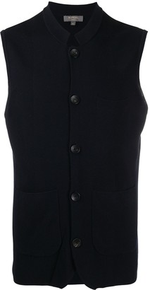 N.Peal Silk And Cashmere Waistcoat
