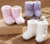 Pottery Barn Kids Sherpa Slippers