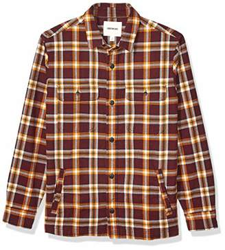 Goodthreads Amazon Brand Men's Heavyweight Flannel Shirt Jacket