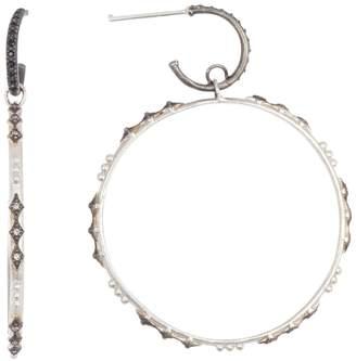 Armenta New World Eternity Diamond Bezel Crivelli Drop Earrings