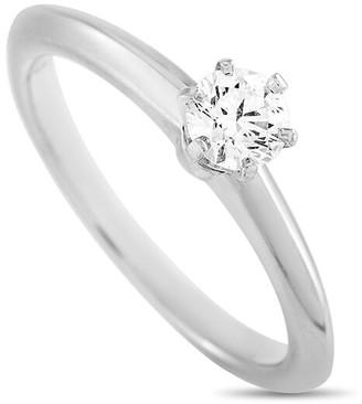 Heritage Tiffany & Co. Tiffany & Co. Platinum 0.29 Ct. Tw. Diamond Engagement Ring