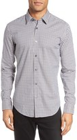 BOSS Ronni Slim Fit Check Dress Shirt