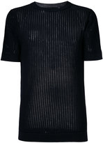 Diesel Black Gold ladder stitch rib knit top - men - Cotton - M