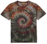 Valentino - Slim-fit Tie-dyed Cotton-jersey T-shirt