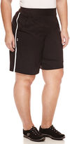 Made For Life Woven Bermuda Shorts-Plus