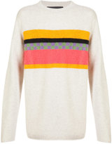 The Elder Statesman Gofa stripe sweater