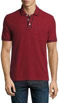 Original Penguin Earl Contrast-Trim Cotton Polo Shirt, Red