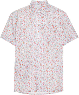 Engineered Garments Camp Floral-Print Cotton Shirt
