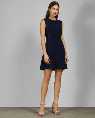 Ted Baker SAAHRAD Embroidered shift dress