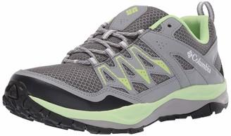 Columbia Women's WAYFINDER Hiking Shoes Grey (Graphite Jade Lime) 3 UK 36 EU